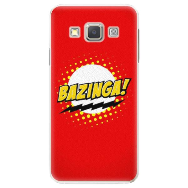 Plastové pouzdro iSaprio - Bazinga 01 - Samsung Galaxy A3