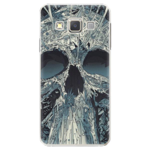 Plastové pouzdro iSaprio - Abstract Skull - Samsung Galaxy A3