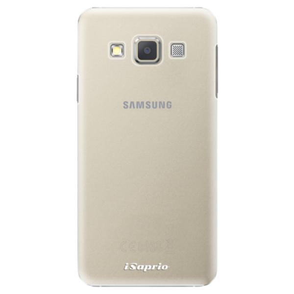 Plastové pouzdro iSaprio - 4Pure - mléčný bez potisku - Samsung Galaxy A3