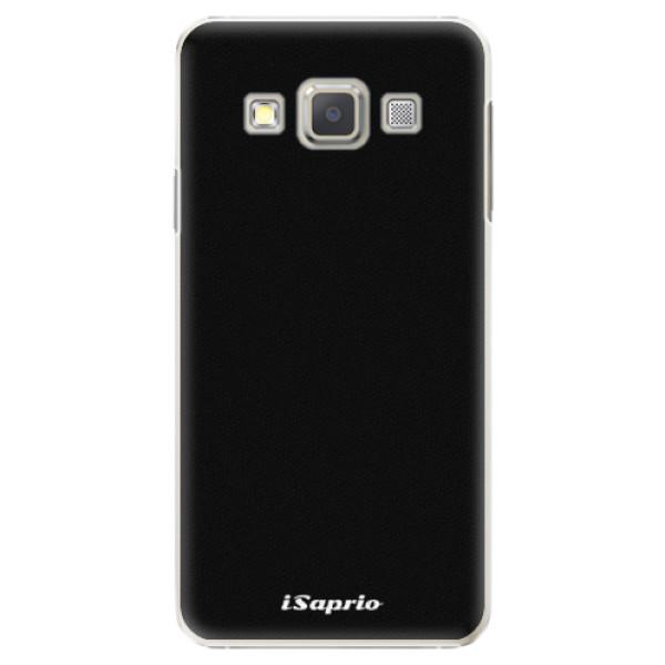 Plastové pouzdro iSaprio - 4Pure - černý - Samsung Galaxy A3