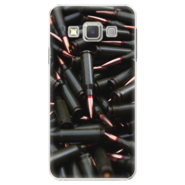 Plastové pouzdro iSaprio - Black Bullet - Samsung Galaxy A3