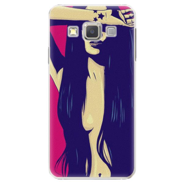 Plastové pouzdro iSaprio - Cartoon Girl - Samsung Galaxy A3