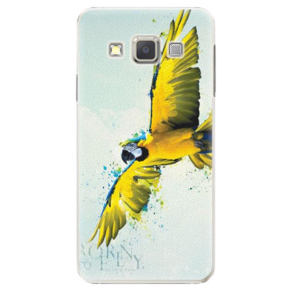 Plastové pouzdro iSaprio - Born to Fly - Samsung Galaxy A3