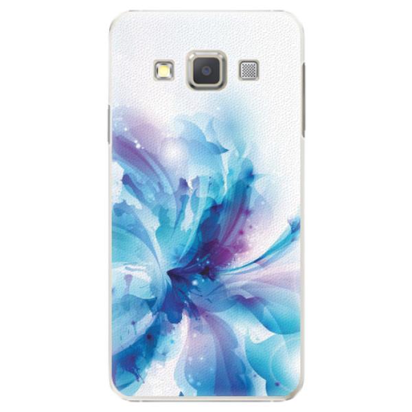 Plastové pouzdro iSaprio - Abstract Flower - Samsung Galaxy A3