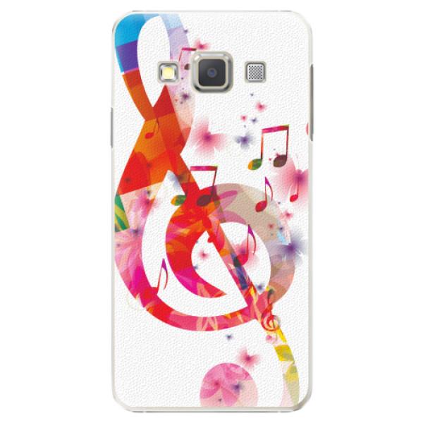 Plastové pouzdro iSaprio - Love Music - Samsung Galaxy A3