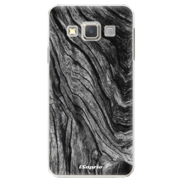 Plastové pouzdro iSaprio - Burned Wood - Samsung Galaxy A3