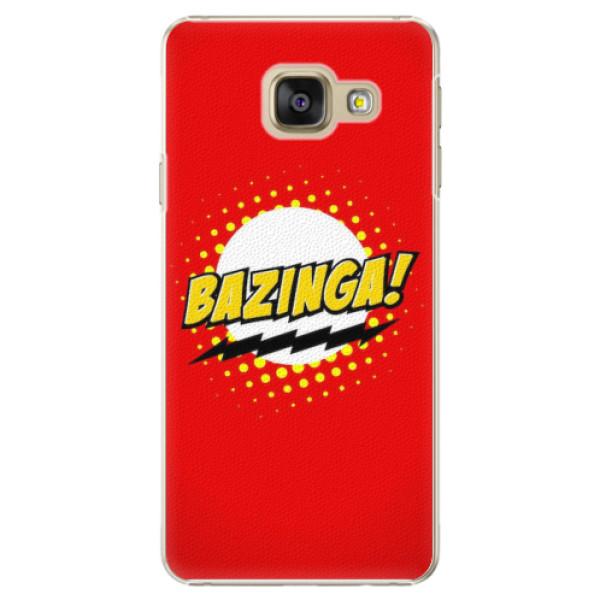 Plastové pouzdro iSaprio - Bazinga 01 - Samsung Galaxy A3 2016