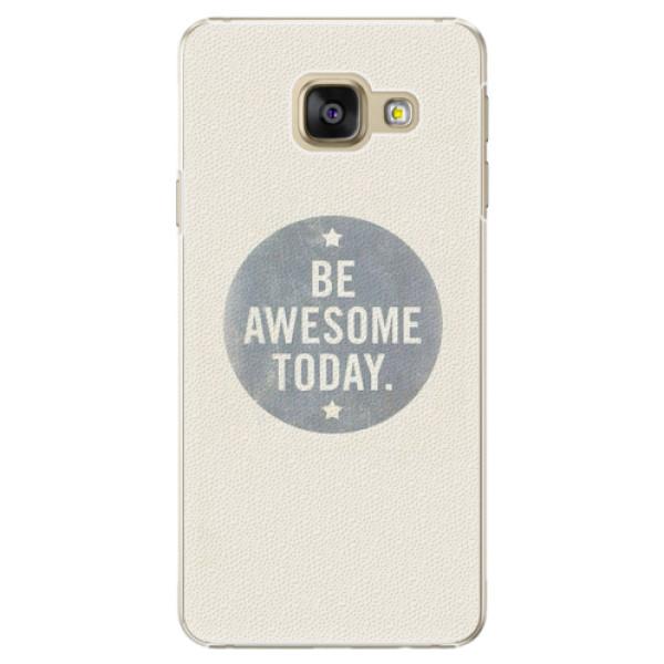 Plastové pouzdro iSaprio - Awesome 02 - Samsung Galaxy A3 2016