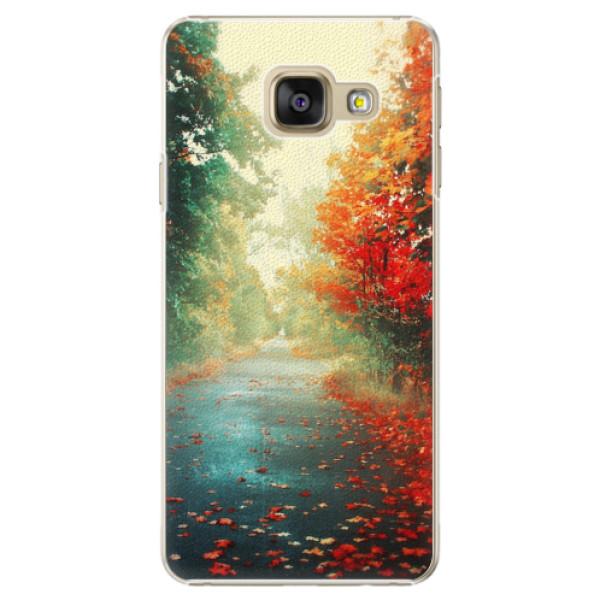Plastové pouzdro iSaprio - Autumn 03 - Samsung Galaxy A3 2016
