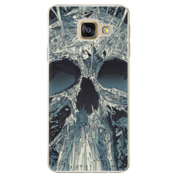Plastové pouzdro iSaprio - Abstract Skull - Samsung Galaxy A3 2016