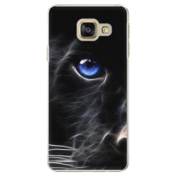 Plastové pouzdro iSaprio - Black Puma - Samsung Galaxy A3 2016