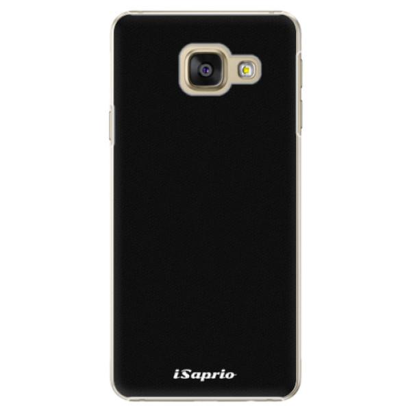 Plastové pouzdro iSaprio - 4Pure - černý - Samsung Galaxy A3 2016