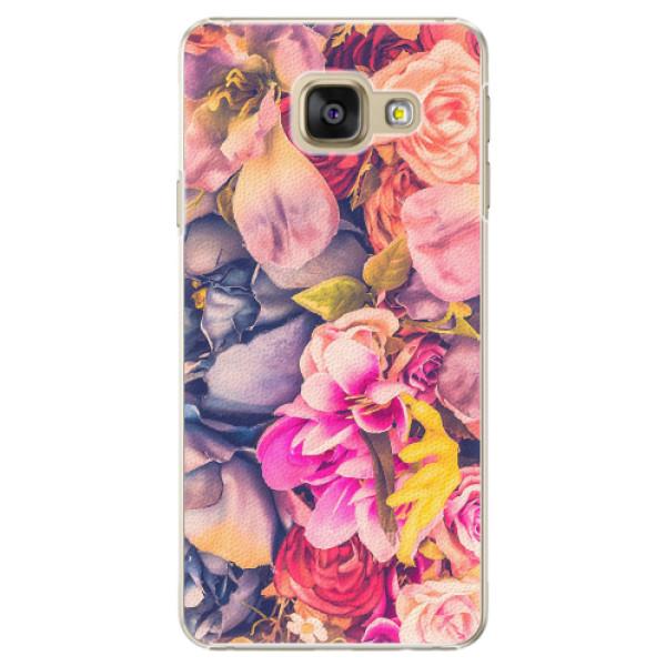 Plastové pouzdro iSaprio - Beauty Flowers - Samsung Galaxy A3 2016