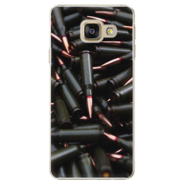 Plastové pouzdro iSaprio - Black Bullet - Samsung Galaxy A3 2016