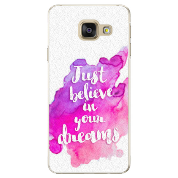 Plastové pouzdro iSaprio - Believe - Samsung Galaxy A3 2016