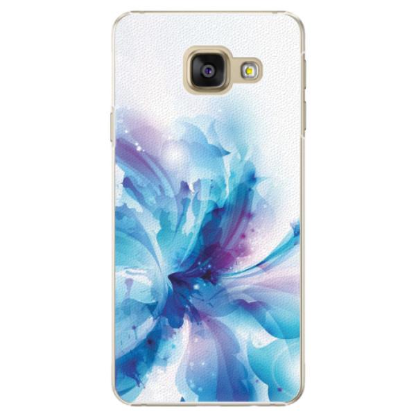 Plastové pouzdro iSaprio - Abstract Flower - Samsung Galaxy A3 2016