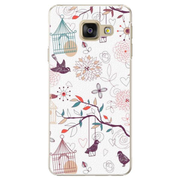 Plastové pouzdro iSaprio - Birds - Samsung Galaxy A3 2016