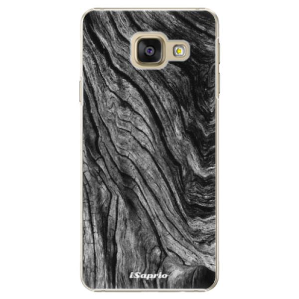 Plastové pouzdro iSaprio - Burned Wood - Samsung Galaxy A3 2016