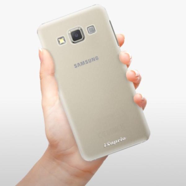 Plastové pouzdro iSaprio - 4Pure - mléčný bez potisku - Samsung Galaxy A5