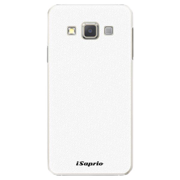 Plastové pouzdro iSaprio - 4Pure - bílý - Samsung Galaxy A5