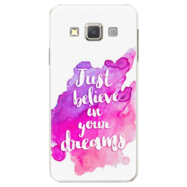 Plastové pouzdro iSaprio - Believe - Samsung Galaxy A5