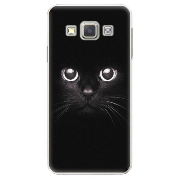 Plastové pouzdro iSaprio - Black Cat - Samsung Galaxy A5