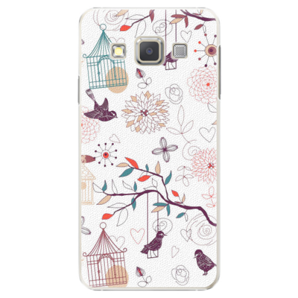 Plastové pouzdro iSaprio - Birds - Samsung Galaxy A5