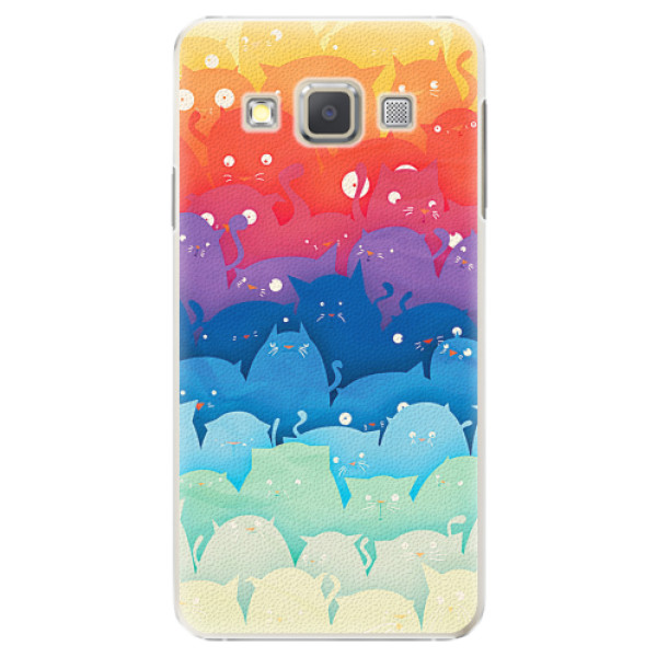 Plastové pouzdro iSaprio - Cats World - Samsung Galaxy A5