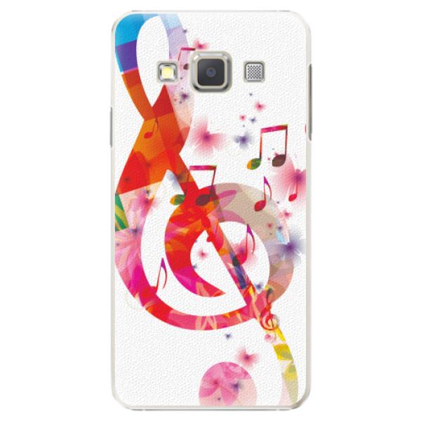 Plastové pouzdro iSaprio - Love Music - Samsung Galaxy A5