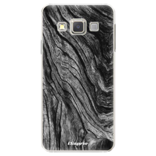Plastové pouzdro iSaprio - Burned Wood - Samsung Galaxy A5