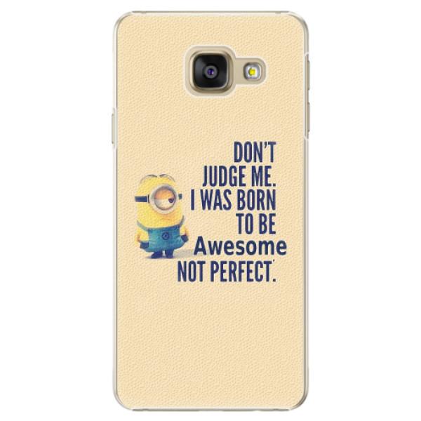 Plastové pouzdro iSaprio - Be Awesome - Samsung Galaxy A5 2016