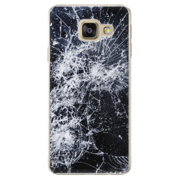 Plastové pouzdro iSaprio - Cracked - Samsung Galaxy A5 2016