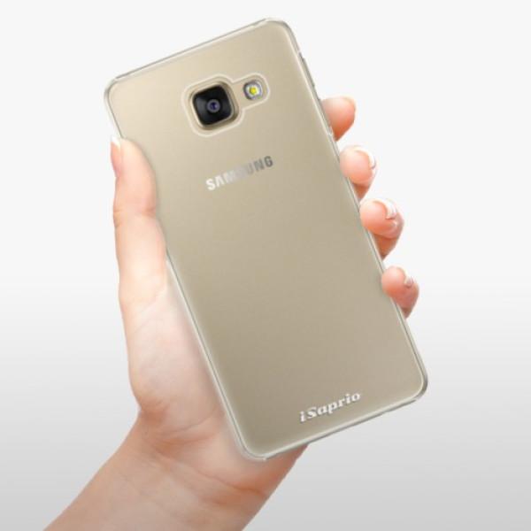 Plastové pouzdro iSaprio - 4Pure - mléčný bez potisku - Samsung Galaxy A5 2016
