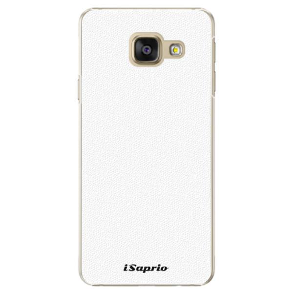 Plastové pouzdro iSaprio - 4Pure - bílý - Samsung Galaxy A5 2016