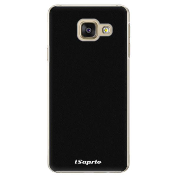 Plastové pouzdro iSaprio - 4Pure - černý - Samsung Galaxy A5 2016