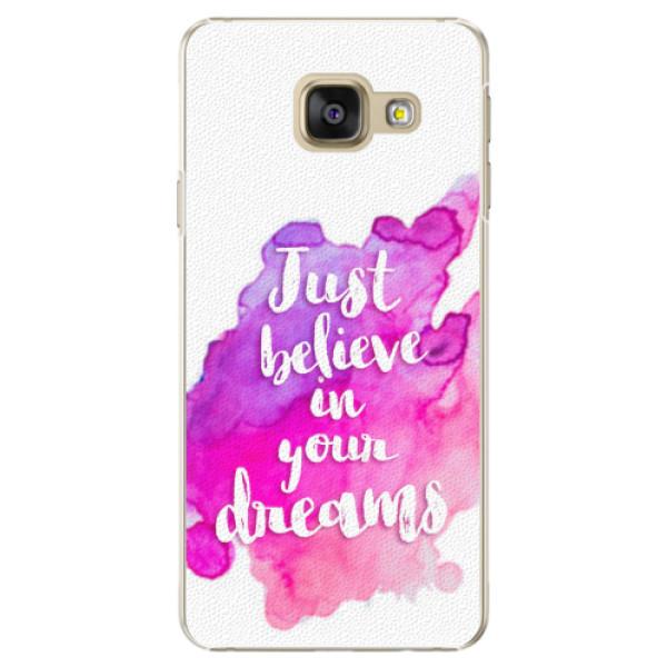 Plastové pouzdro iSaprio - Believe - Samsung Galaxy A5 2016