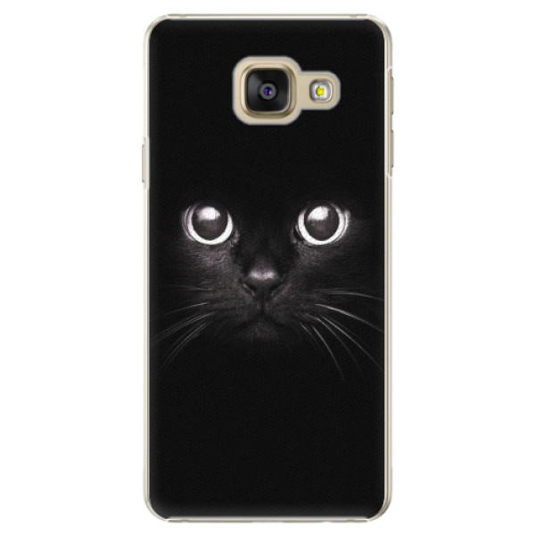 Plastové pouzdro iSaprio - Black Cat - Samsung Galaxy A5 2016