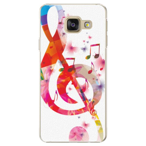 Plastové pouzdro iSaprio - Love Music - Samsung Galaxy A5 2016