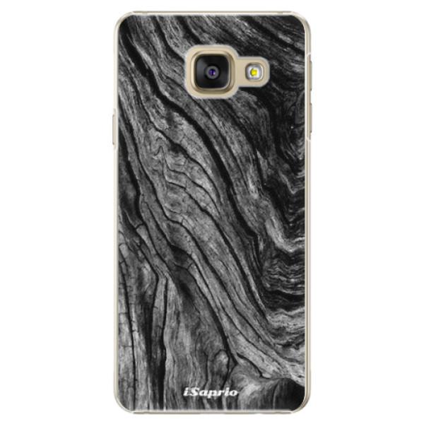 Plastové pouzdro iSaprio - Burned Wood - Samsung Galaxy A5 2016