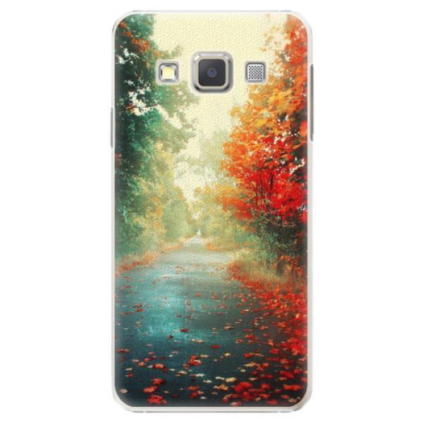Plastové pouzdro iSaprio - Autumn 03 - Samsung Galaxy A7