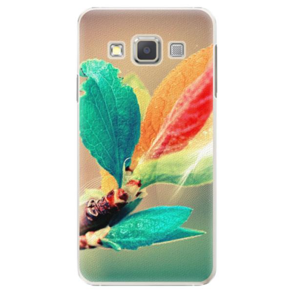 Plastové pouzdro iSaprio - Autumn 02 - Samsung Galaxy A7