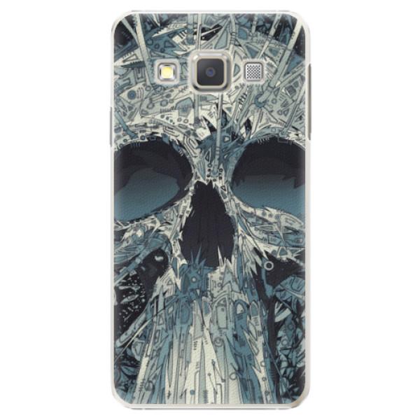 Plastové pouzdro iSaprio - Abstract Skull - Samsung Galaxy A7