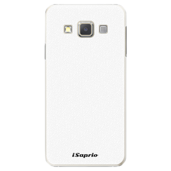 Plastové pouzdro iSaprio - 4Pure - bílý - Samsung Galaxy A7