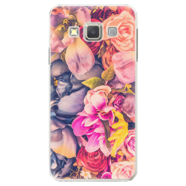 Plastové pouzdro iSaprio - Beauty Flowers - Samsung Galaxy A7