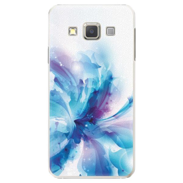 Plastové pouzdro iSaprio - Abstract Flower - Samsung Galaxy A7