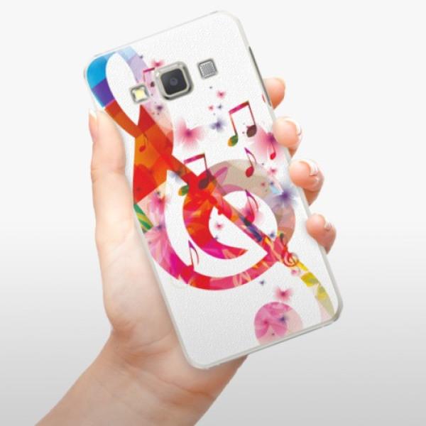 Plastové pouzdro iSaprio - Love Music - Samsung Galaxy A7