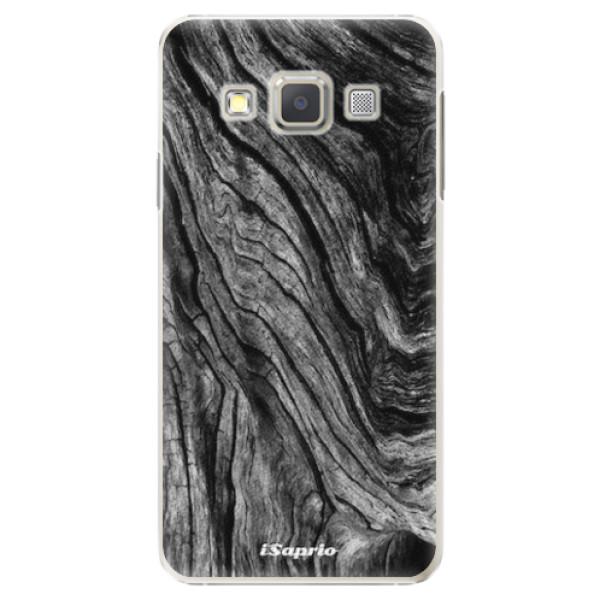 Plastové pouzdro iSaprio - Burned Wood - Samsung Galaxy A7