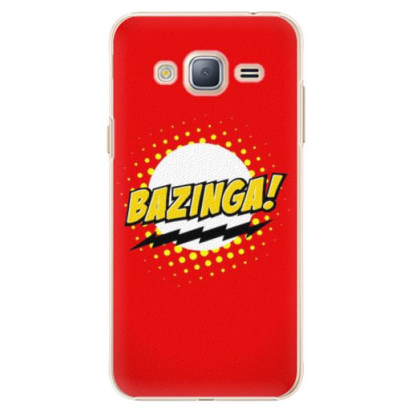 Plastové pouzdro iSaprio - Bazinga 01 - Samsung Galaxy J3 2016
