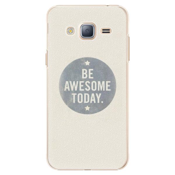 Plastové pouzdro iSaprio - Awesome 02 - Samsung Galaxy J3 2016