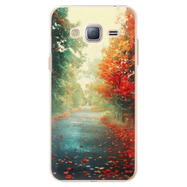 Plastové pouzdro iSaprio - Autumn 03 - Samsung Galaxy J3 2016